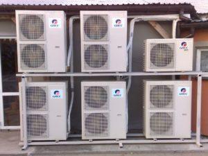 Klimatyzacja domy weselne, duże obiekty firmowe - Instalacja klimatyzacji w firmach