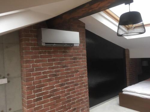 Klimatyzacja zamontowana na poddaszu w mieszkaniu w Krakowie